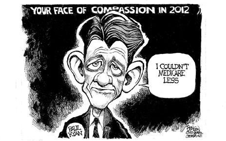 cartoons paul ryan hate medicare