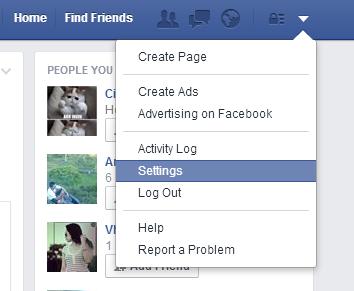 Cara Memberikan Security Berlapis Facebook 1