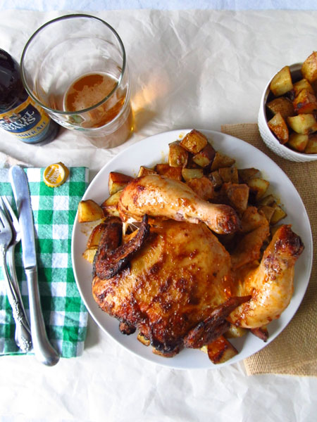 Chili and Lime Beer Can Chicken Recipe