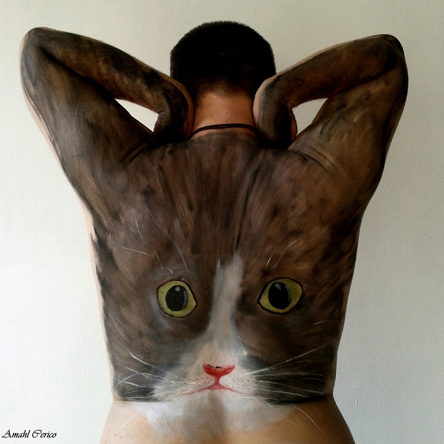 Cat Body Painting