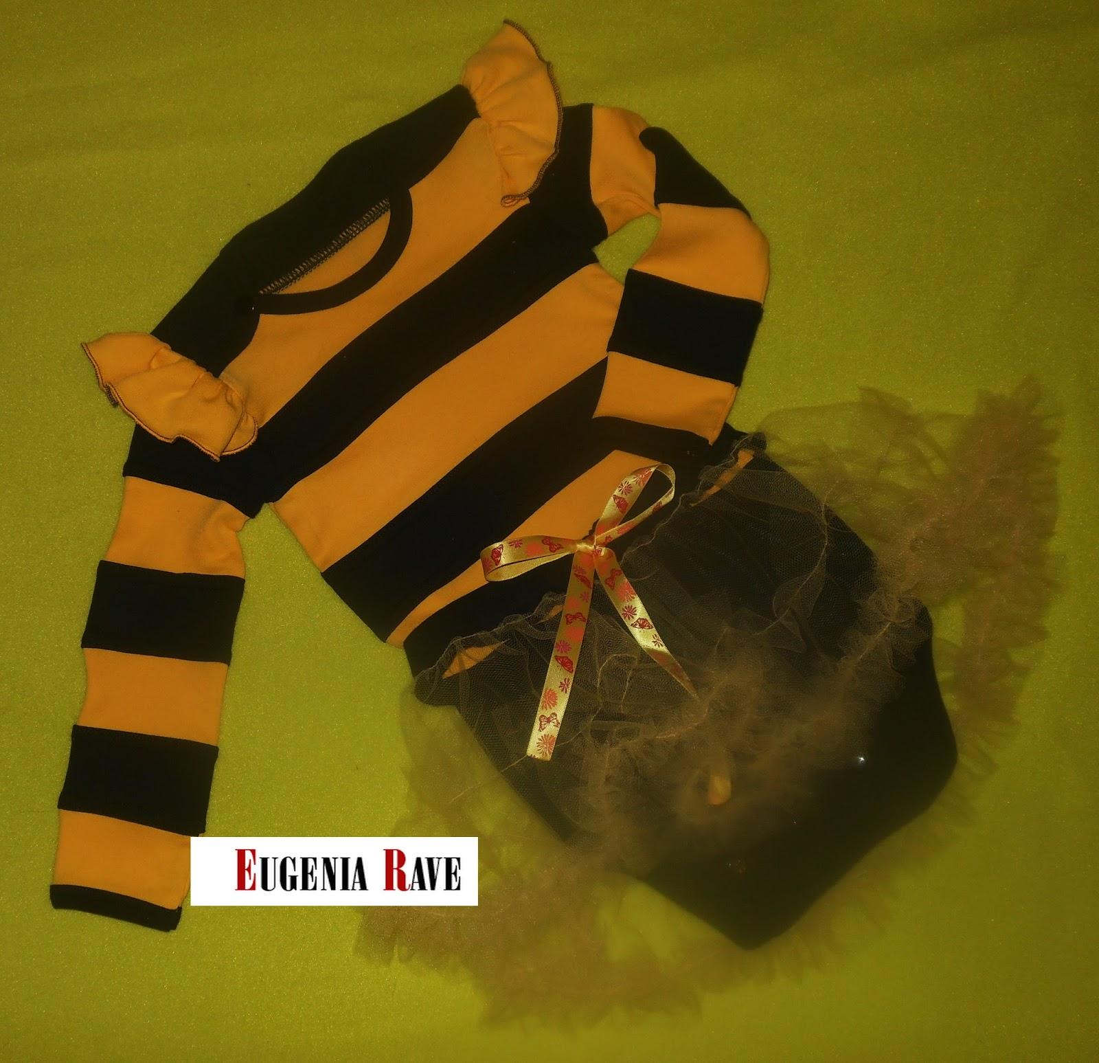 костюм для малышки, костюм для малышки на новый год, костюм пчелки, билайн, полосатый трикотаж