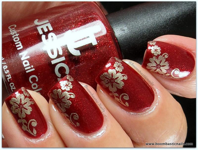 Boombastic Nails: Jessica Queen Bee