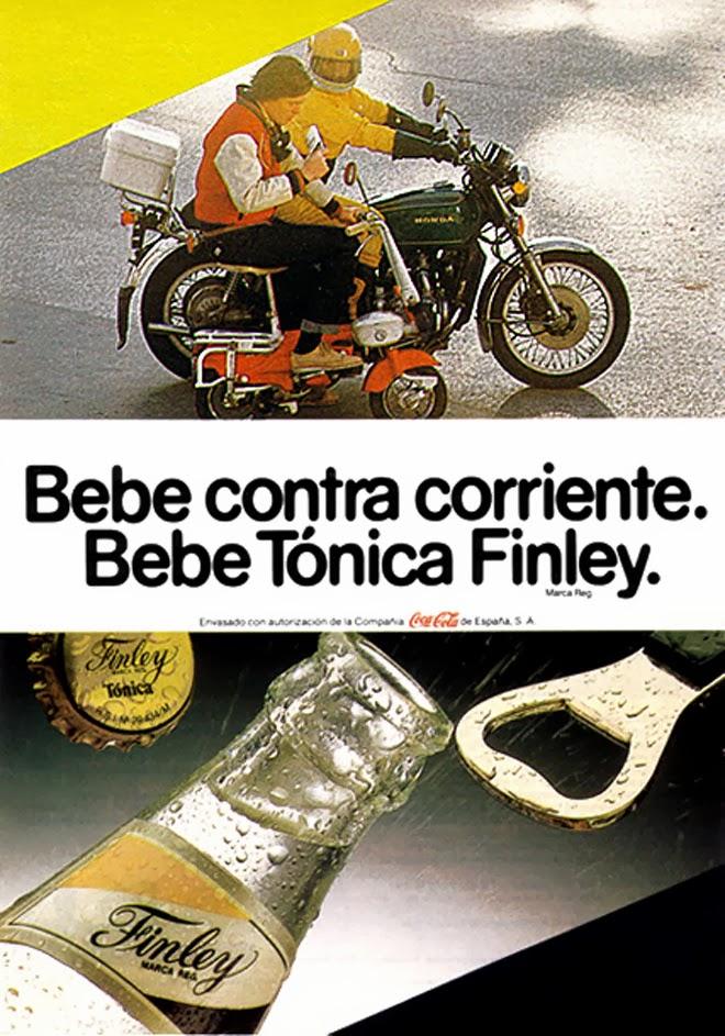 Tónica Finley Publicidad de los años 80