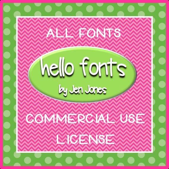Hello Fonts