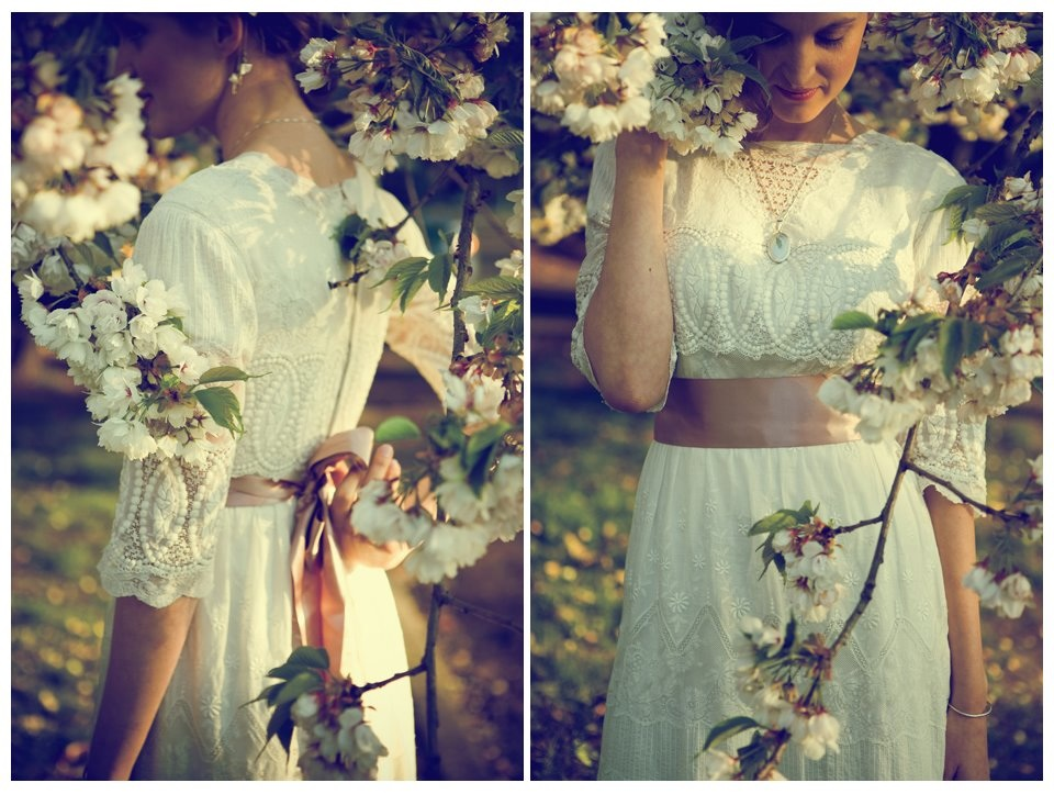 These are some lovely pictures of a Vintage Wedding The dress
