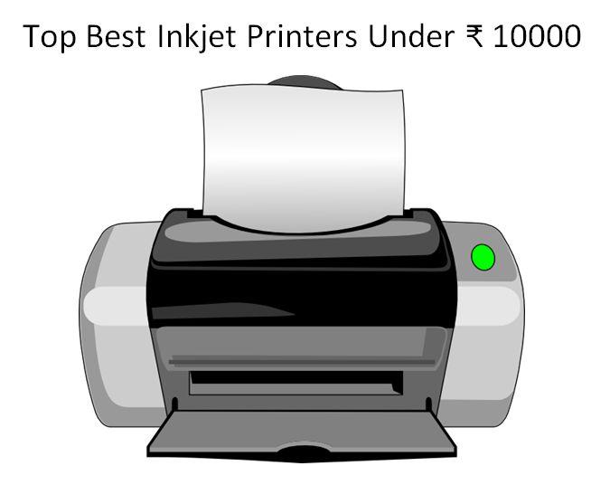 5 best inkjet printers under 10000 in india 2016 for Best home office inkjet printer 2015