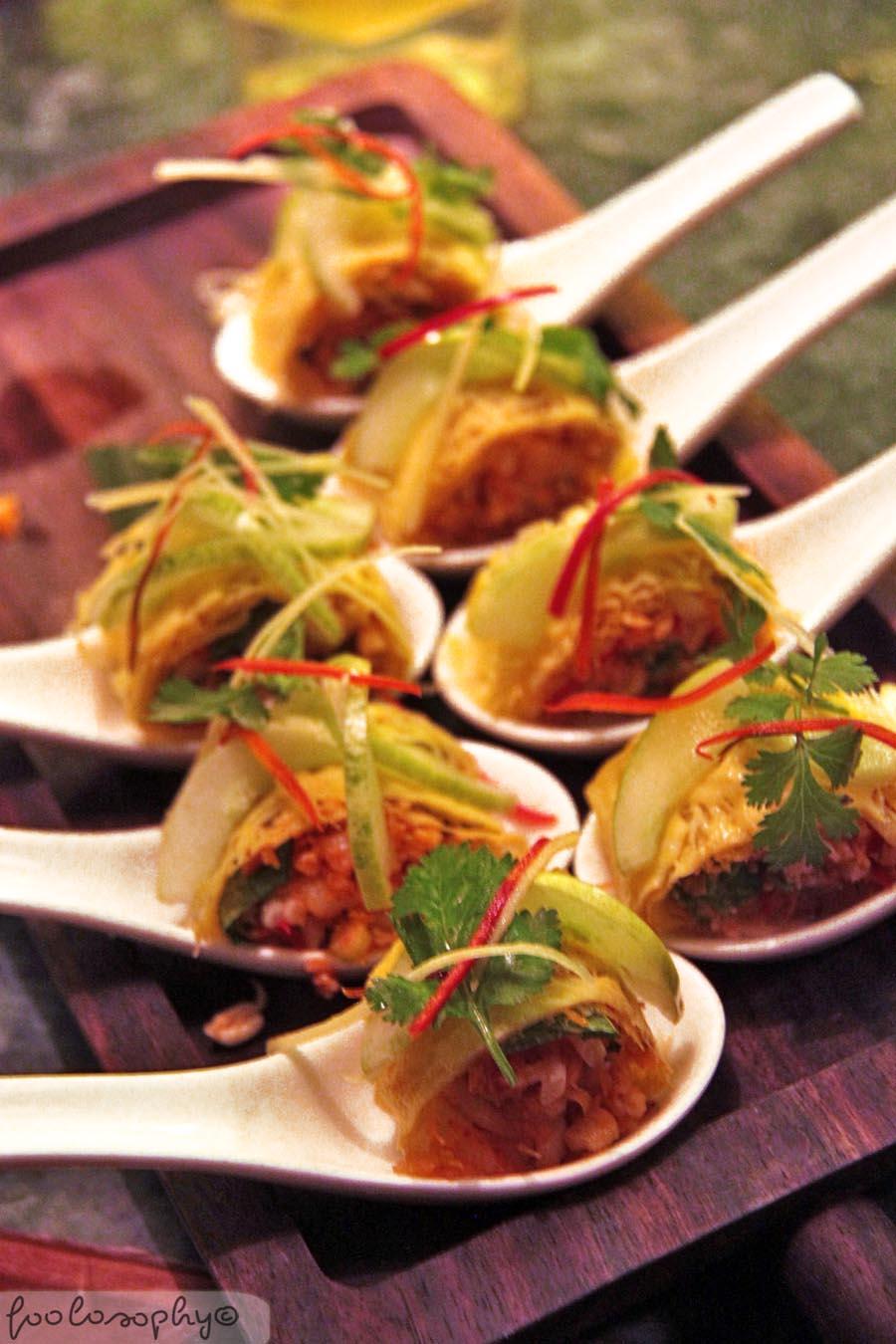 E o private dinner f o o l o s o p h y jakarta food blog for Canape jakarta