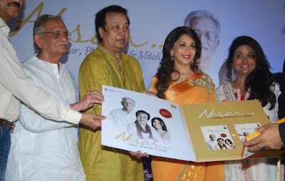 madhuri dixit in aksar album launch glamour  images