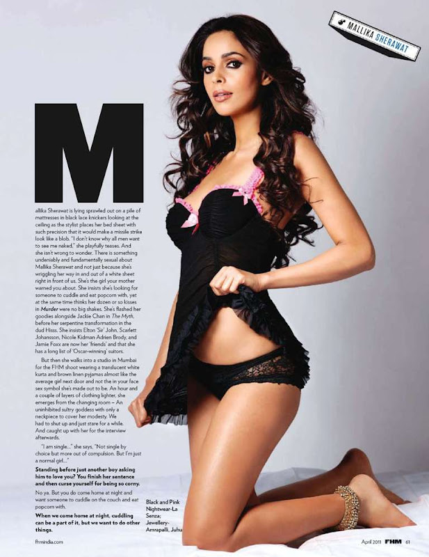 Mallika Sherawat Photoshoot For FHM India