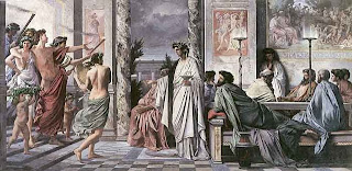 plato symposium highest good form god ascent love desire personality person