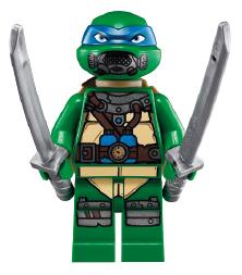 Leonardo Blue Turtle LEGO