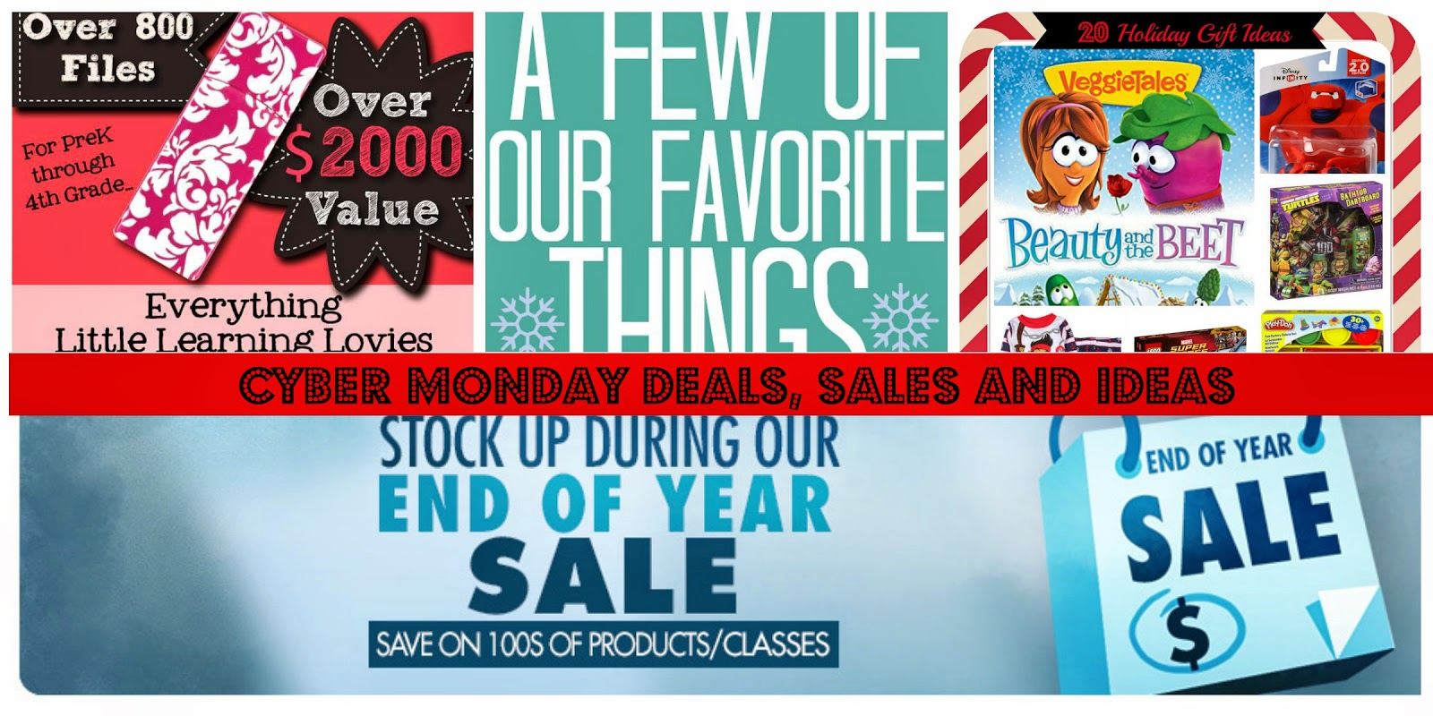 Cyber Monday 2014 Freebies, Deals, Sales and Ideas