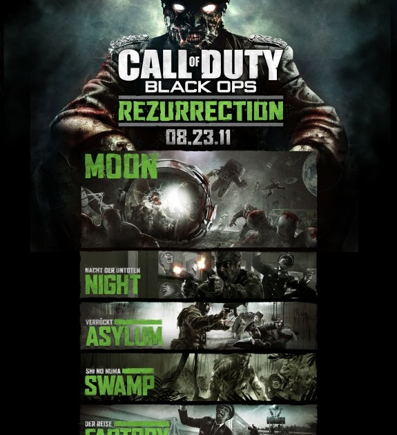 Hammock of Games: Call of Duty Black Ops Zombie Map Pack on