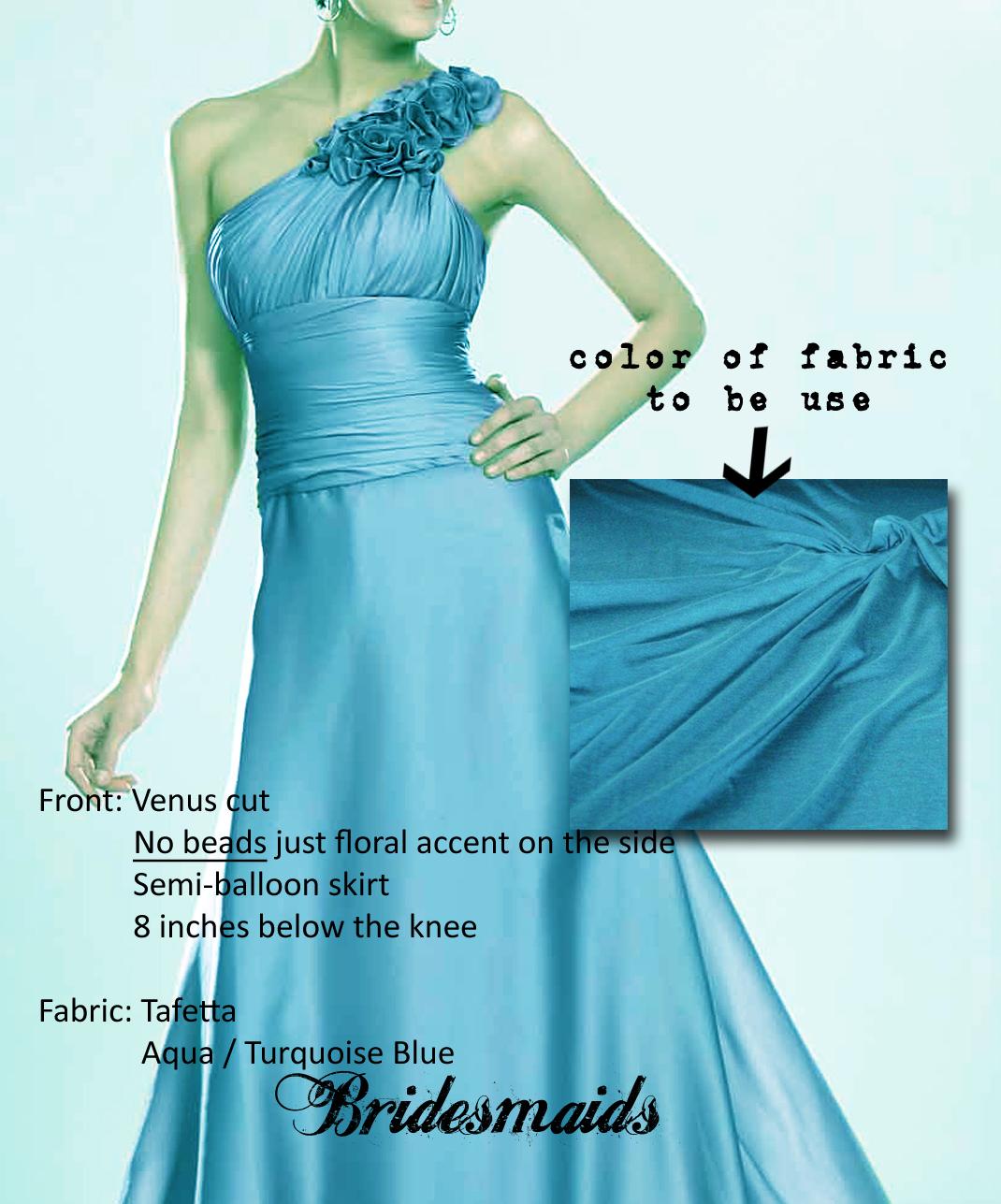 RYAN-JANET WEDDING: Gowns of Entourage