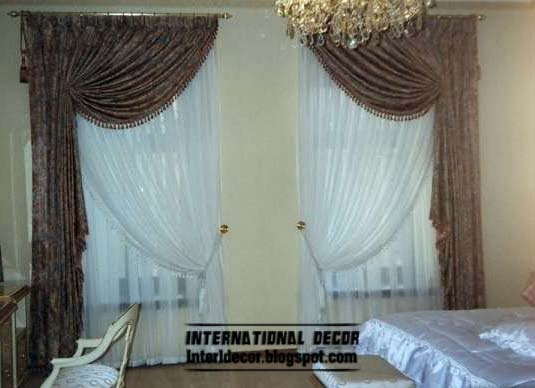 brown curtains for bedroom stylish curtain ideas for bedroom windows