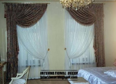 luxury brown curtains for bedroom stylish curtain ideas for bedroom windows
