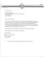 Simultaneously The Rays Sent A Letter To Hillsborough County Commission Chairman Ken Hagan Saying We Stand Ready Meet At Your Convenience