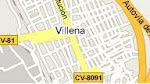 COMO LLEGAR A VILLENA