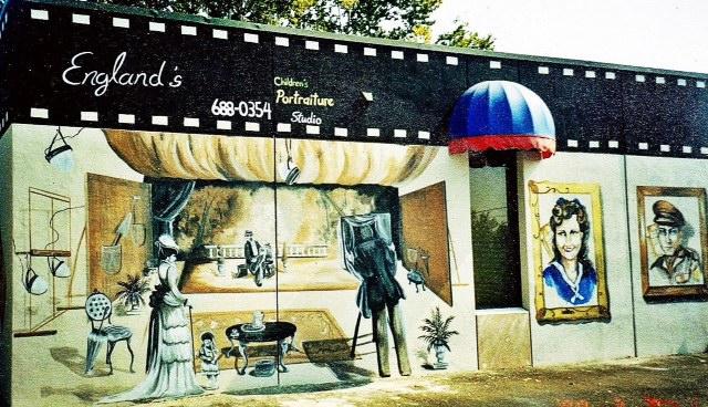 Photo studio mural