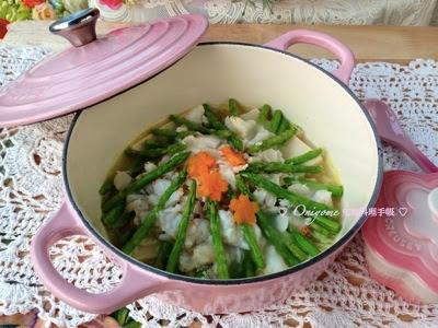 露荀豆腐扒蟹肉 (附食譜)