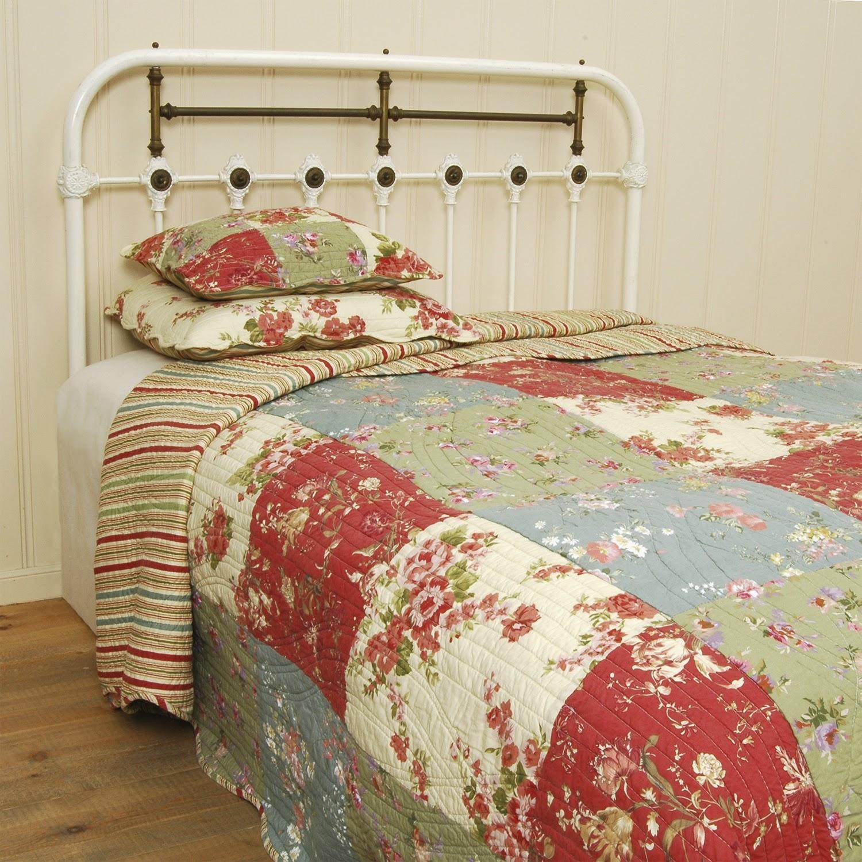 Как сшить покрывало на кровать из лоскутков 18