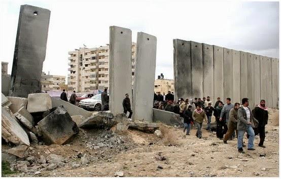 Tembok Pemisah Israel Antara Palestin Yang Kita Semua Tak Pernah Lihat
