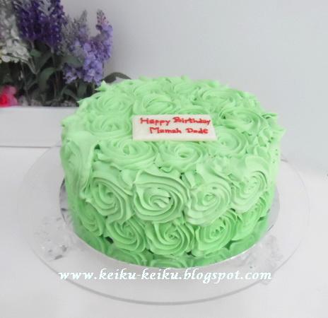 Keiku Cake: Keikus Cake birthday promo
