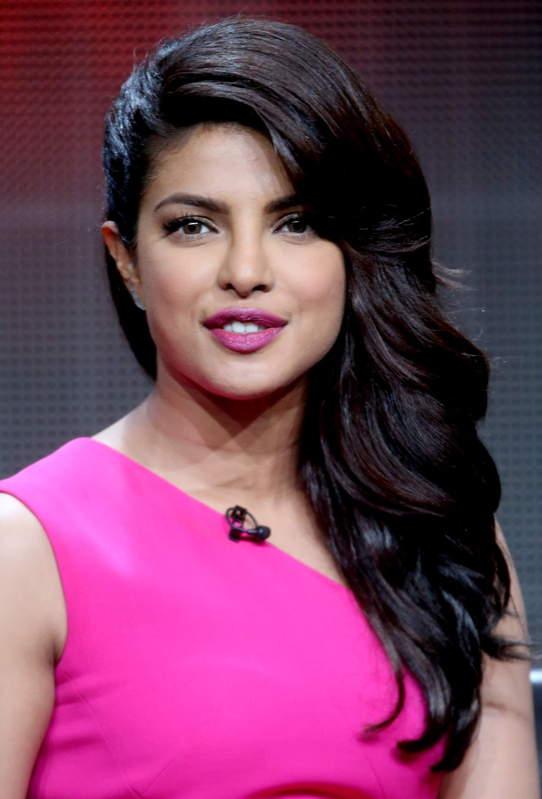 Priyanka Chopra on stage during the 'Quantico' panel discussion