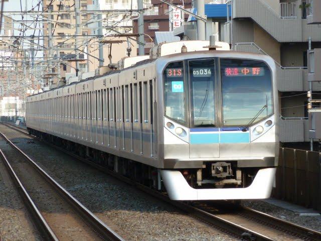 東京メトロ東西線 快速 中野行き3 05N系