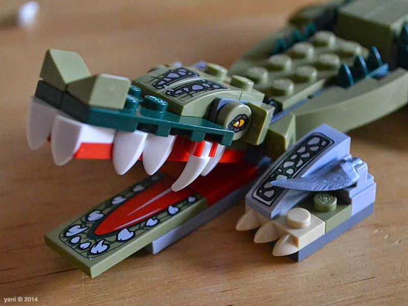 lego chima legend beast crocodile - never smile at a crocodile