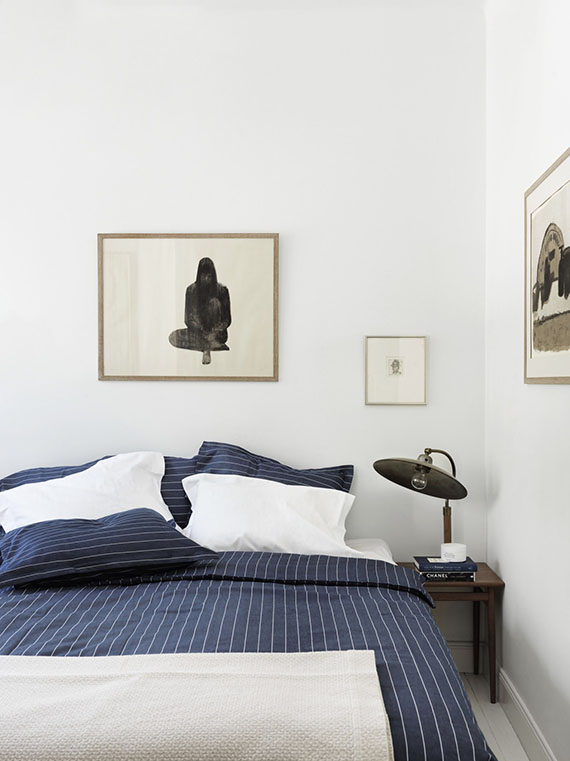 Seriously crisp bedrooms | Petra Bindel