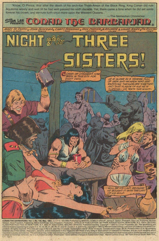 Conan the Barbarian (1970) Issue #146 #158 - English 4