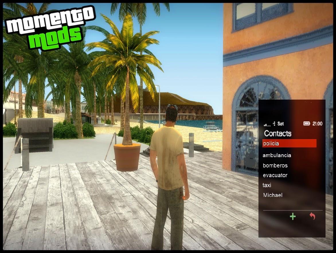 GTA SA - Mod Celular Funcional Do Trevor De GTA V