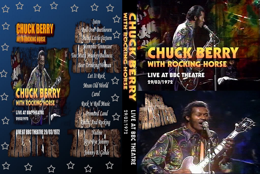 Dvd Concert Th Power By Deer 5001 Chuck Berry Amp Rocking