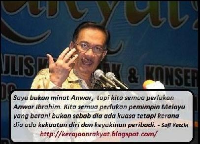 Anwar Ibrahim Kerajaan Rakyat