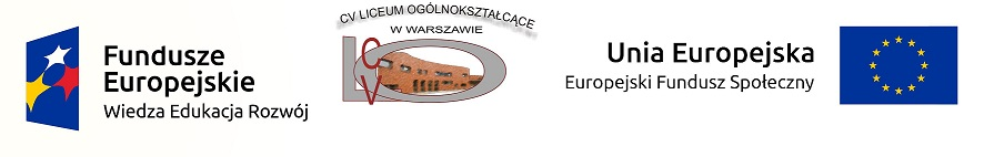 PROJEKT ERASMUS CV LO w Warszawie