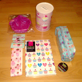 cupcake party theme presents
