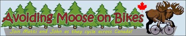Avoiding Moose on Bikes