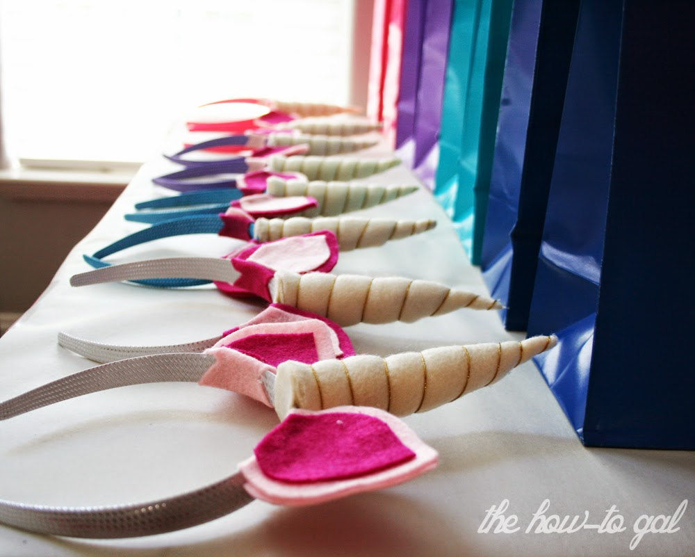 The How To Gal How To Make A Unicorn Horn Headband