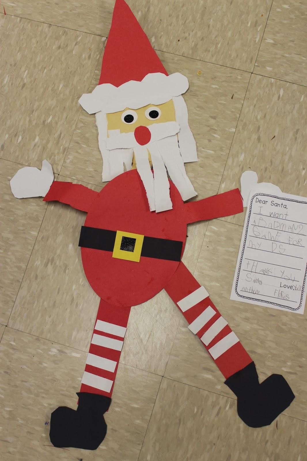 Christmas Crafts For Kindergarten Students : Mrs lee s kindergarten gingerbread week