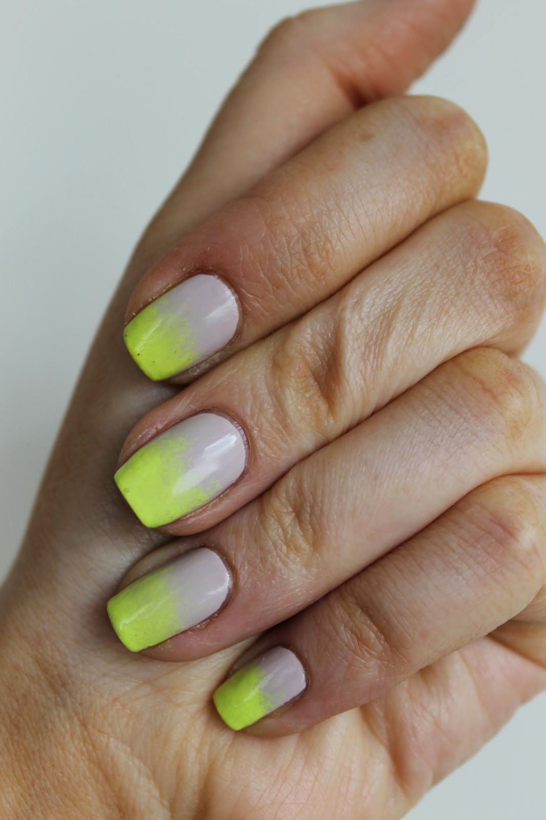 NailsByNumbers: NOTD! Neon Gradient Nails
