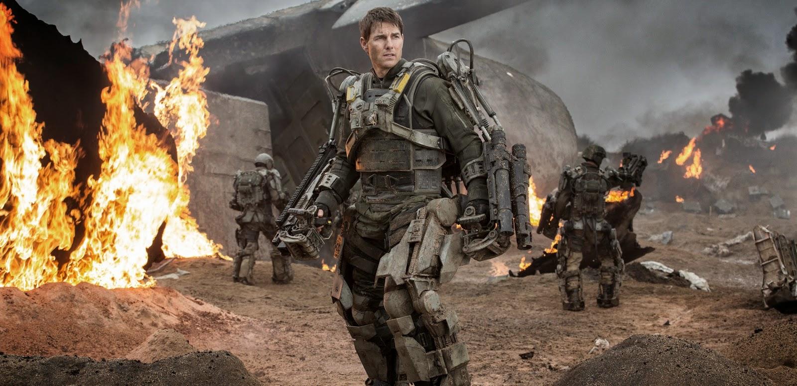 Ação ininterrupta em clipes inéditos da ficção No Limite do Amanhã, com Tom Cruise e Emily Blunt