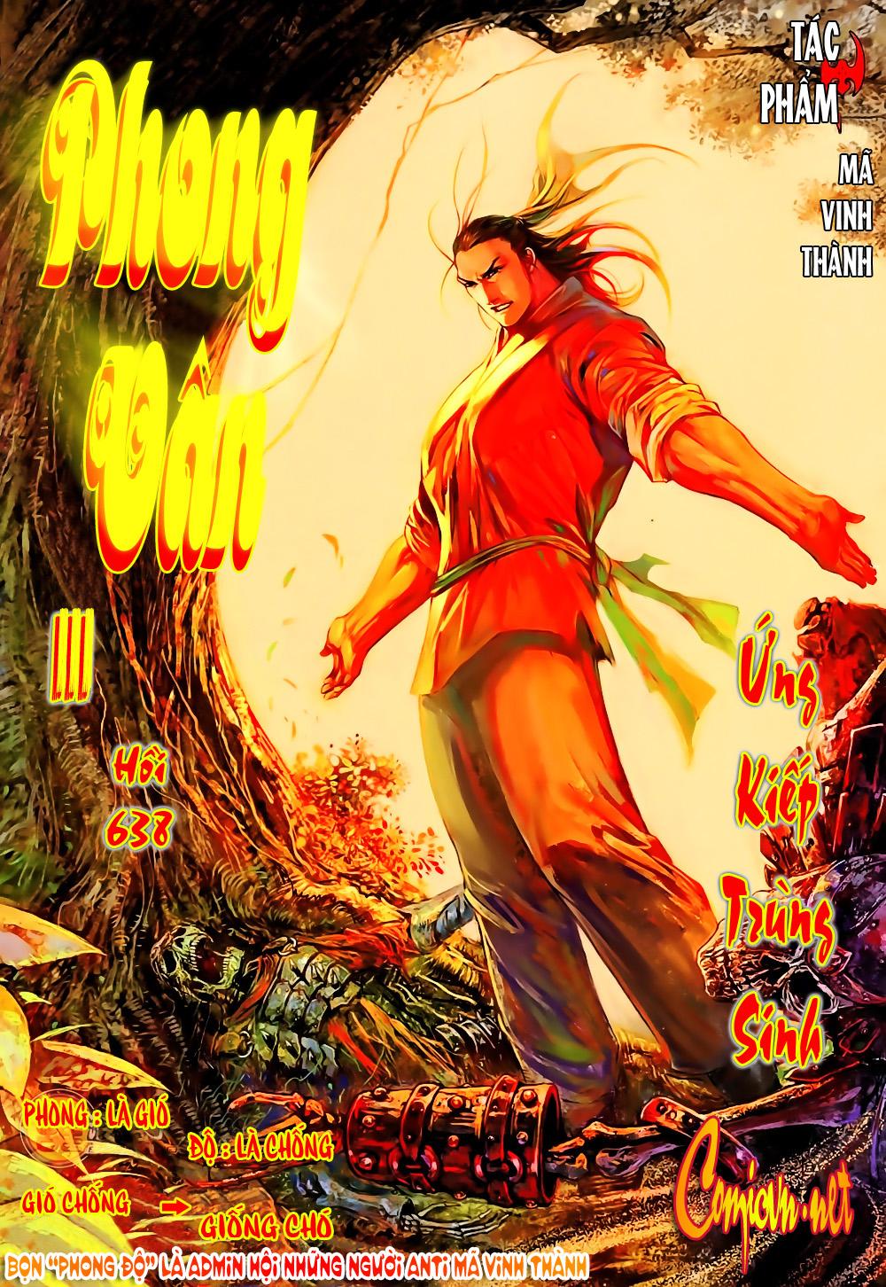 Phong Vân chap 638 Trang 1 - Mangak.info