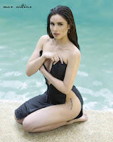beautiful, exotic, exotic pinay beauties, filipina, hot, max collins, pinay, pretty, sexy, swimsuit
