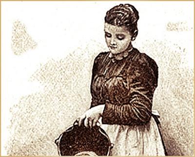 Servant girl 1800s