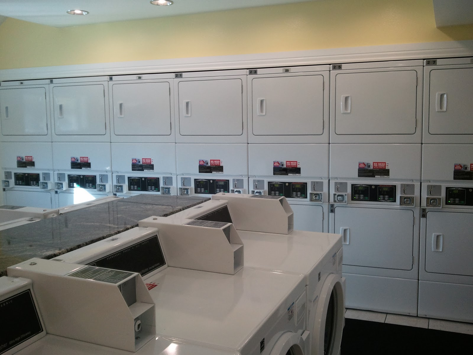King Henry Apartments: New Laundry Room