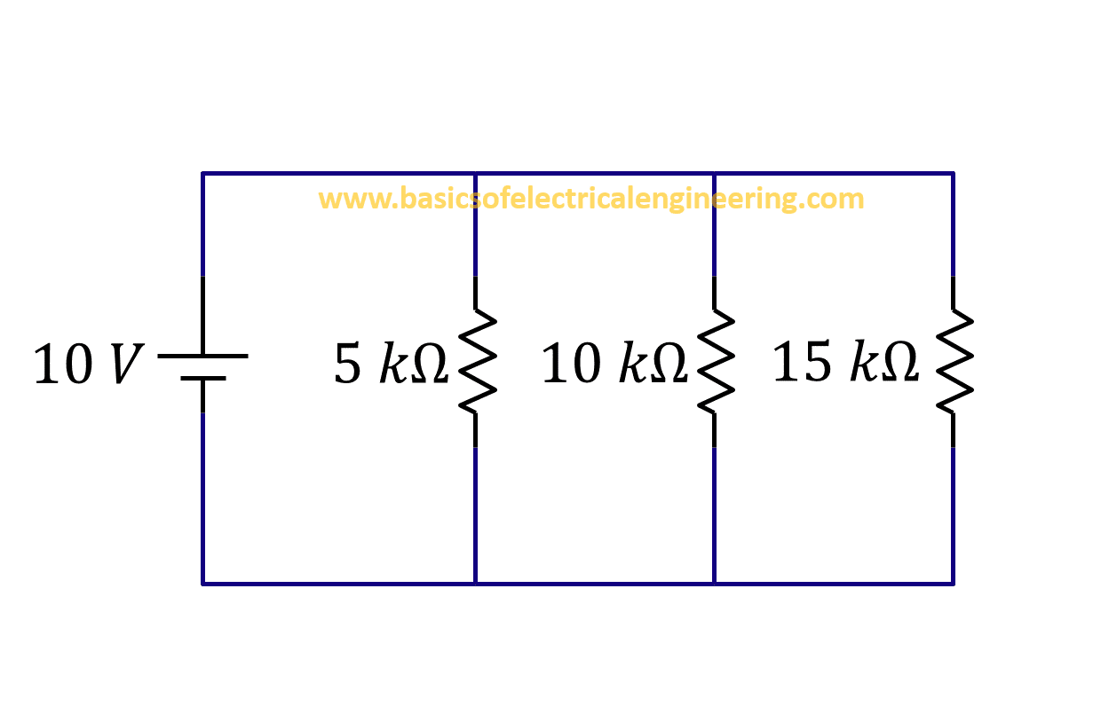 Resistors In Parallel Basics Of Electrical Engineering Simple Voltage Divider Question Example 2