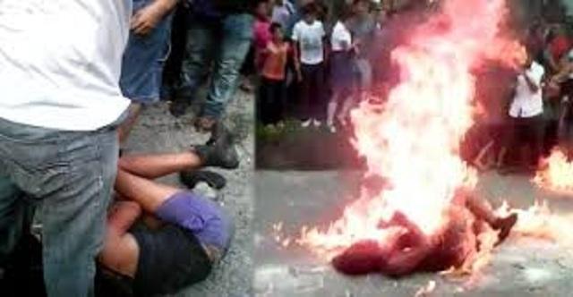 ΣΟΚ! Έκαψαν ζωντανή γυναίκα επειδή τη θεώρησαν μάγισσα (βίντεο)