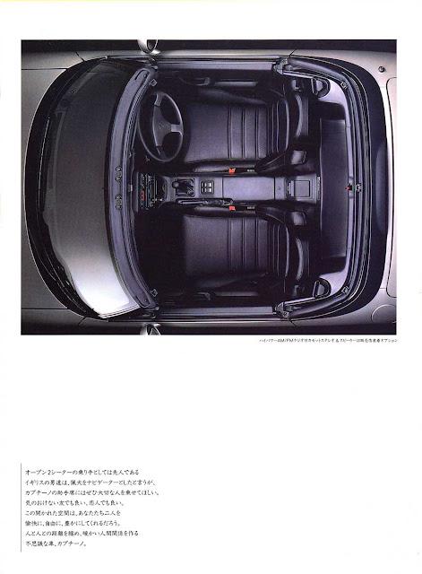 Suzuki Cappuccino, kei car, mały samochód, japoński, JDM, mały silnik, broszura, wnętrze