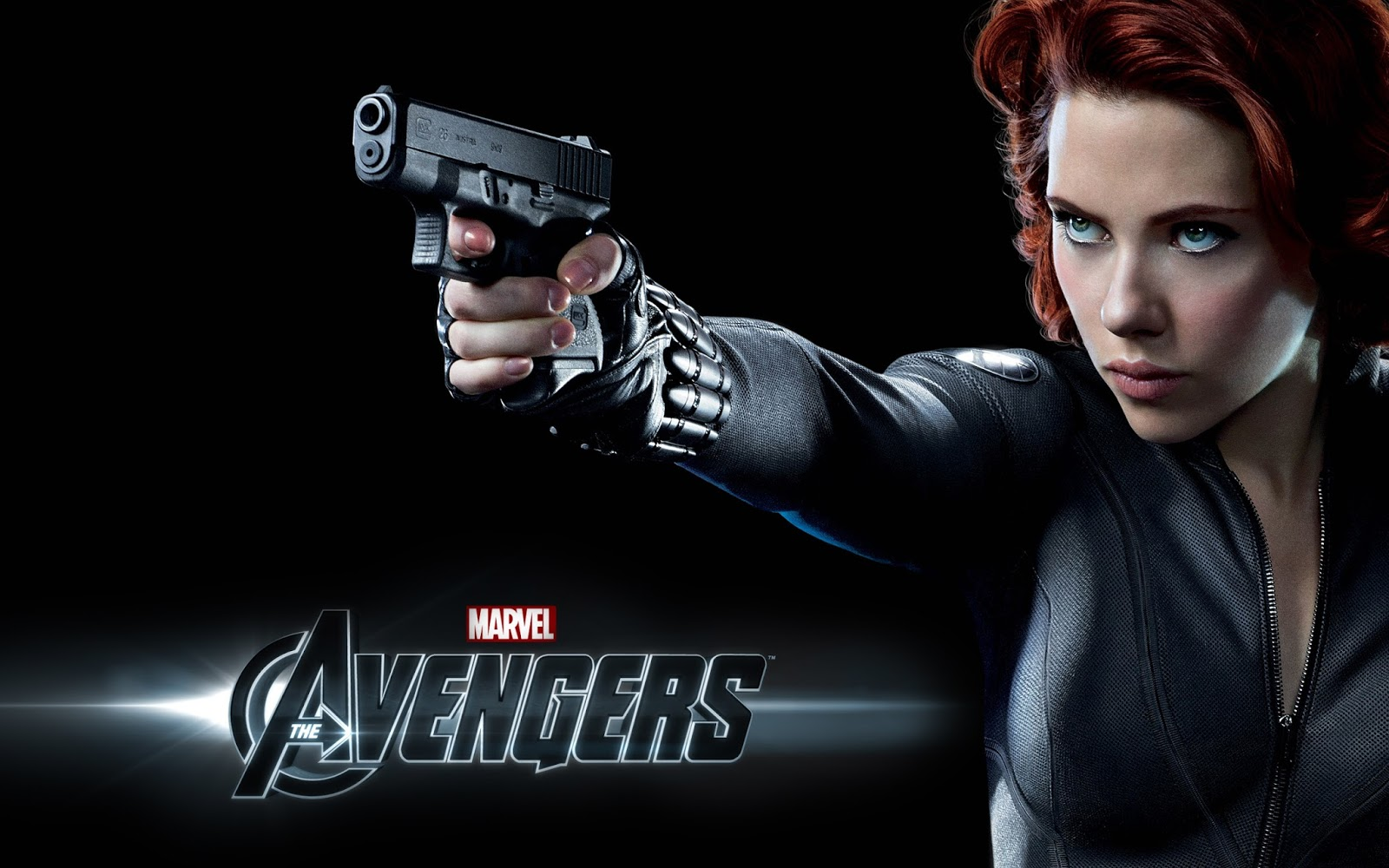 Scarlett Johansson in the Movie Avengers Wallpaper